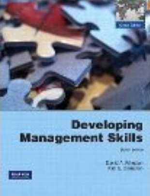 Developing Management Skills Pearson International Global Edition