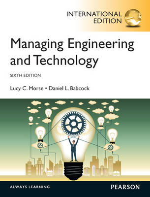 Managing Engineering and Technology, International Edition