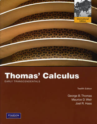 Thomas' Calculus: Early Transcendentals