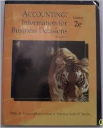 Acp Accounting-Info for Business Decisions, Volume 2