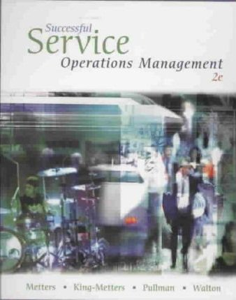 Successful Service Operations Management (with Student CD-ROM,  Microsoft® Project 2007, InfoTrac® Printed Access Card)