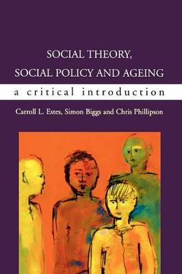 Social Theory, Social Policy N Aging, Sc