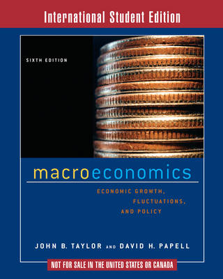 Macroeconomics: Economic Growth, Fluctuations, and Policy