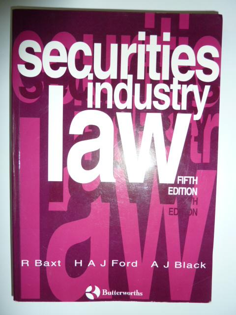 Securities Industry Law