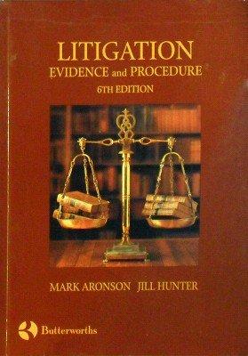 Litigation: Evidence and Procedure