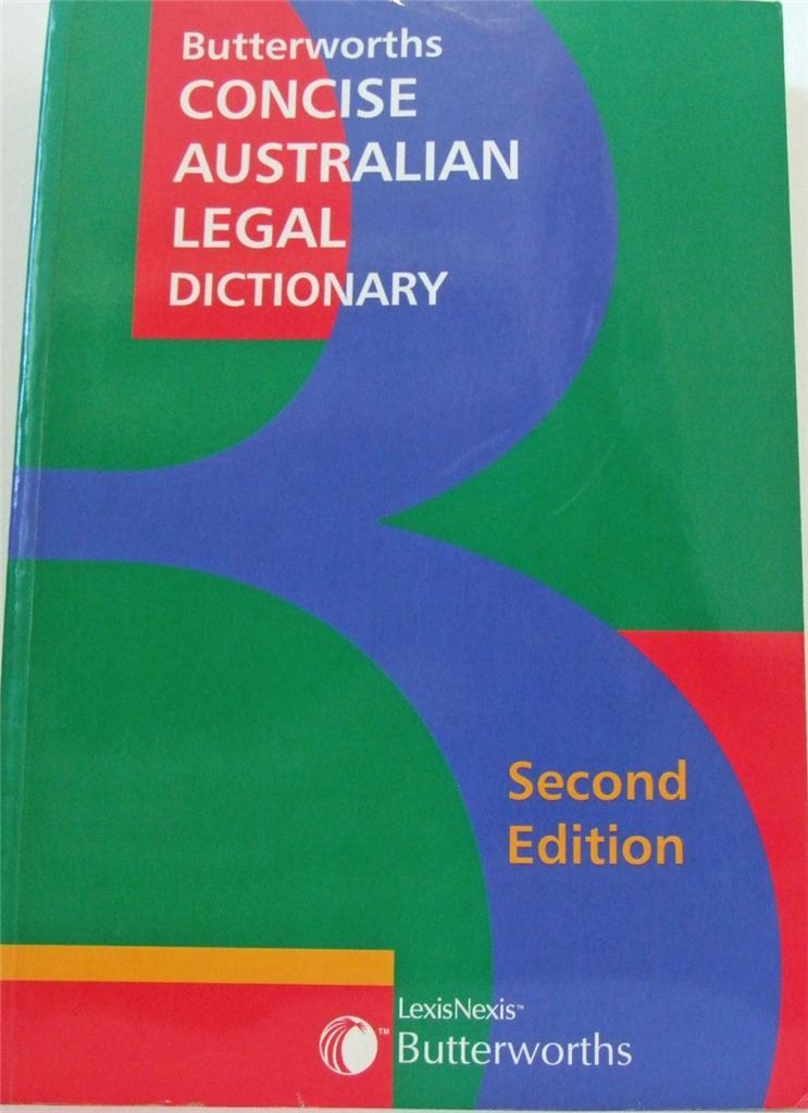 Butterworths Concise Australian Legal Directory