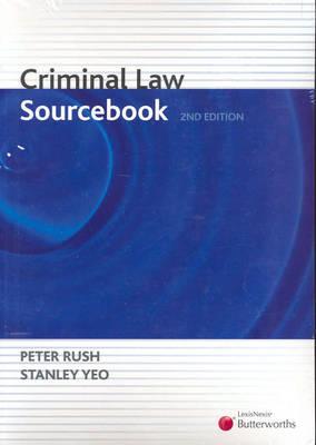 Criminal Law Sourcebook