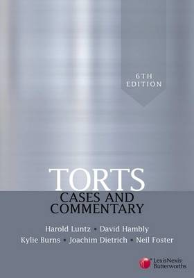 Torts: Cases and Commentary