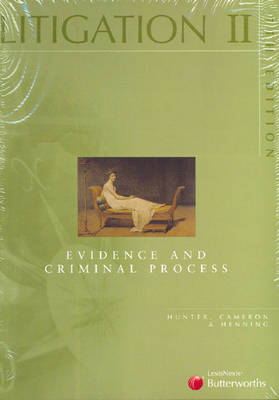 Litigation: Evidence and Criminal Process: v. 2