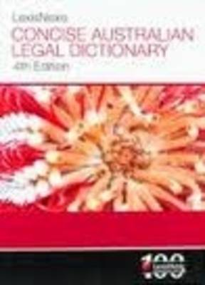 LexisNexis Concise Australian Legal Dictionary