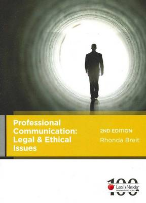 Professional Communication: Legal and Ethical Issues