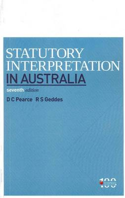 Statutory Interpretation in Australia
