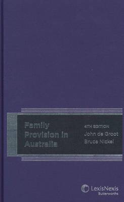 Family Provision in Australia