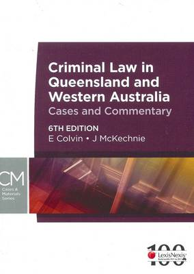 Criminal Law in Qld and WA