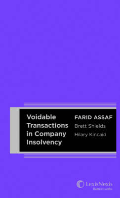 Voidable Transactions in Company Insolvency