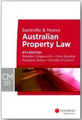 Sackville and Neave Australian Property Law