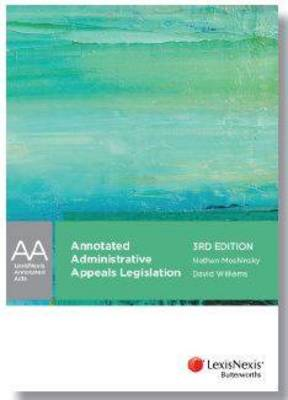 Annotated Administrative Appeals Legislation
