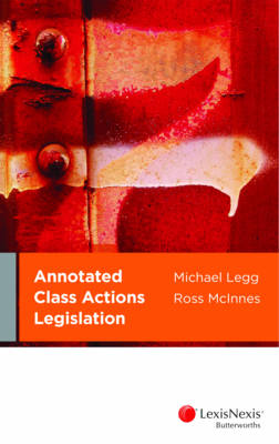 Annotated Class Actions Legislation