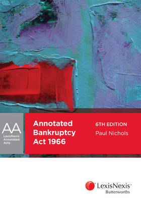 Annotated Bankruptcy Act 1966