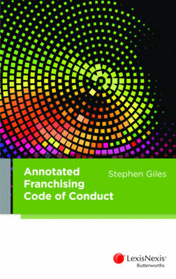 Annotated Franchising Code of Conduct