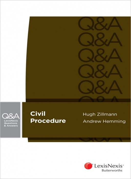 Lexisnexis Questions and Answers - Civil Procedure