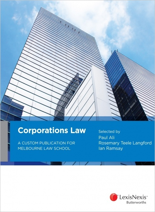 Corporations Law: A Custom Publication for Melbourne Law School