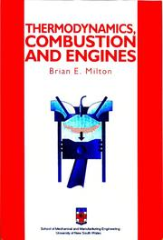 Thermodynamics, Combustion and Engines