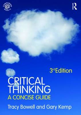 Critical Thinking: A Concise Guide