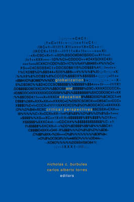 Globalization and Education: Critical Perspectives