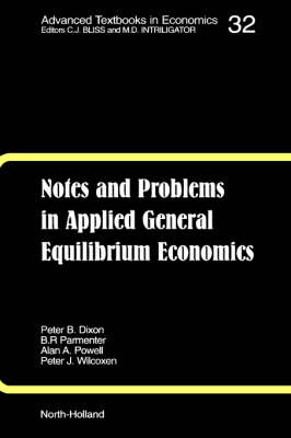 Notes and Problems in Applied General Equilibrium Economics