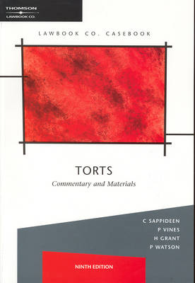 Torts: Commentary and Materials
