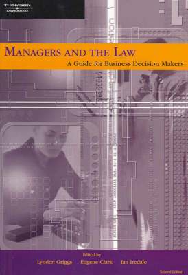 Managers and the Law