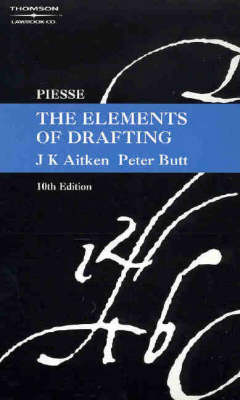 Piesse: The Elements of Drafting 10ed
