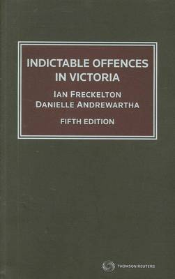 Indictable Offences in Victoria