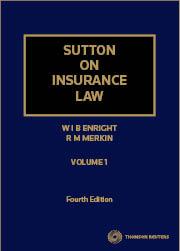 Sutton on Insurance Law 4e V1 & V2