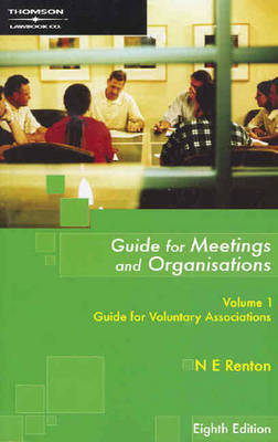 Guide for Meetings & Org 8E Vol 1