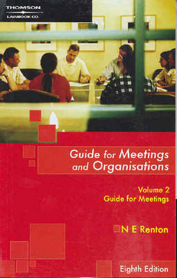 Guide for Meetings & Org 8E Vol 2
