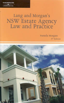 Lang&Morgan's NSW Estate Agency Law&Prac