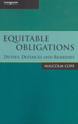 Equitable Obligations:Duties Defence&Rem