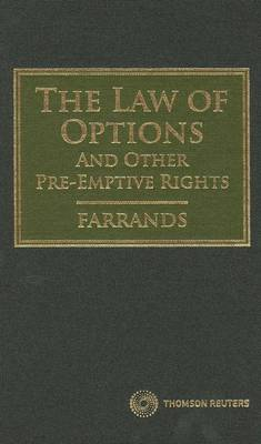 Law of Options&Or Pre-emptive Rights 1e