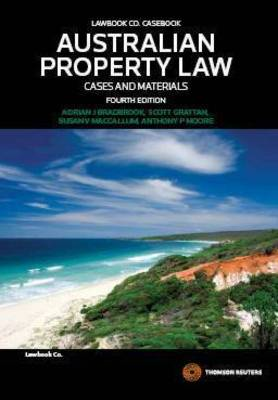 Aust Property Law:Cases and Materials 4e