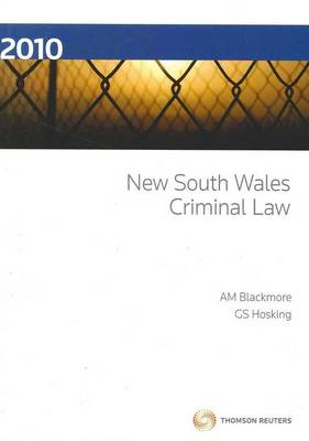 New South Wales Criminal Law
