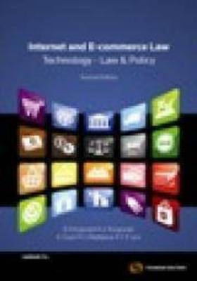 Internet & E-Commerce Law Bus & Policy