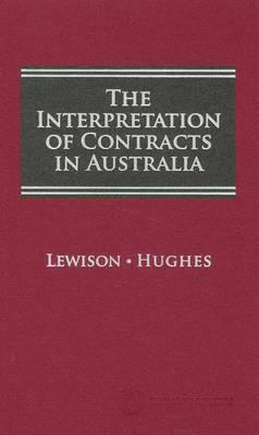 Interpretation of Contracts in Aust 1e