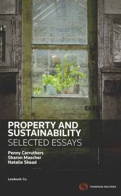 Property&Sustainability: Selected Essays