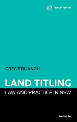 Land Titling Law and Practice in NSW