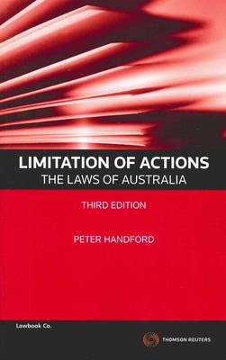 Limitation of Actions- Laws of Aust 3e