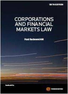 Corporations and Financial Markets Law