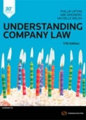 Understanding Company Law 17th edition