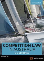 Competition Law in Australia 6e